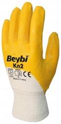 Beybi Kn2 nitriilipinnoitetut puuvillakäsineet