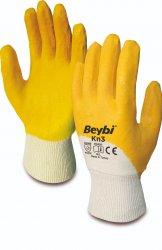 Beybi Kn3 nitriilipinnoitettu puuvillakäsine