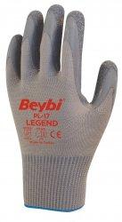 Beybi Pl17 lateksipinnoitetut polyesterikäsineet