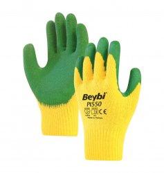 Beybi Pl550 lateksipinnoitetut polyesterikäsineet