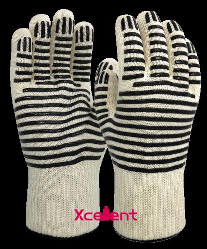 Xcellent 12-401 silikonipinnoitettu kuumansuojakäsine